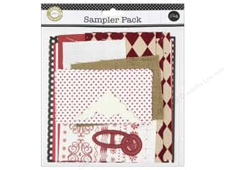 Dads & Grads Embellishments: Canvas Corp Embellishment Sampler Packs Red