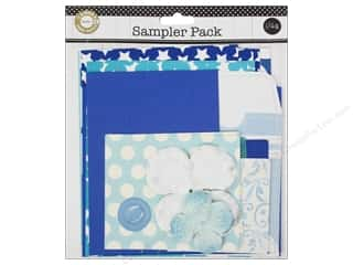 Dads & Grads Embellishments: Canvas Corp Embellishment Sampler Packs Blue