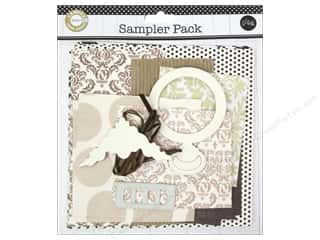 Canvas Home Basics Canvas Corp Embellishments: Canvas Corp Embellishment Sampler Packs Light Neutral