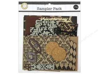 Canvas Home Basics Canvas Corp Embellishments: Canvas Corp Embellishment Sampler Packs Dark Neutral