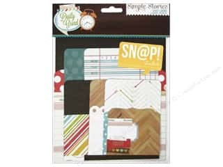 Pattern $2-$4 Clearance : Simple Stories SN@P! Pockets Daily Grind