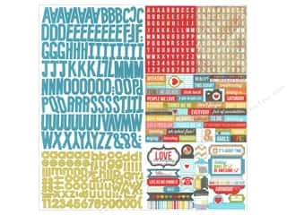 Simple Stories Alphabet Stickers: Simple Stories Sticker Daily Grind Expressions