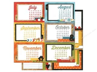 "Calendars $2 - $4: Simple Stories Paper 12""x 12"" Daily Grind Journal #2 (25 pieces)"