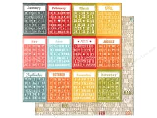 Simple Stories Paper 12x12 Daily Grind Bingo/Month (25 piece)