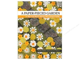 Paper Pieces paper dimensions: That Patchwork Place A Paper-Pieced Garden Book by Maaike Bakker and Francoise Maarse