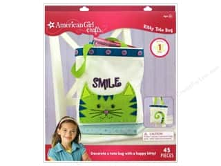 Weekly Specials Dimensions Needle Felting Kits: American Girl Kit Kitty Tote Bag