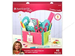 Buttons Kid Crafts: American Girl Kit Creative Caddy