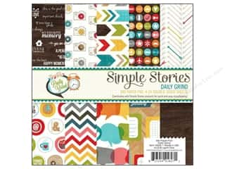 "coordination $4 - $6: Simple Stories Paper Pad Daily Grind 6""x 6"""