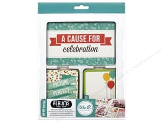 Party & Celebrations Clearance Books: We R Memory Cards Albums Made Easy Journal Hip Hip Hooray