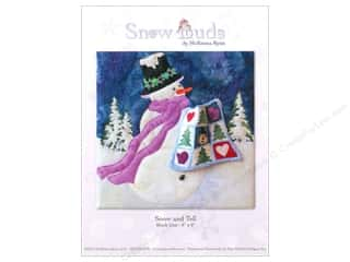 Sewing & Quilting Winter Wonderland: Pine Needles Snow Buds Snow And Tell Pattern