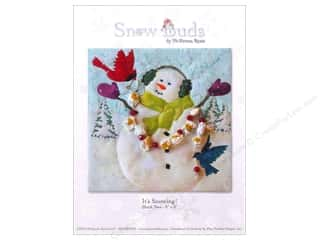 Pine Needles Christmas: Pine Needles Snow Buds It's Snowing! Pattern