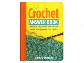 Clearance $3 - $4: Storey Publications The Crochet Answer Book by Edie Eckman