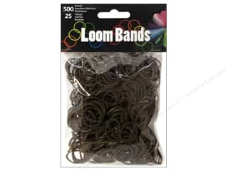 Kid Crafts Brown: Midwest Design Loom Band Coffee 525pc