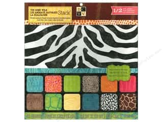 Die Cuts 12 x 12 in. Cardstock Mat Stack Gone Wild