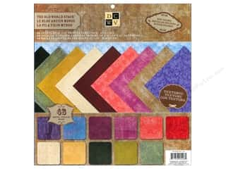 Die Cuts With A View 12 x 12 in. Cardstock Mat Stack Old World
