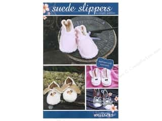 McKay Manor Musers Sewing Construction: Mckay Manor Musers Suede Slippers Child Size Pattern