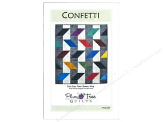 Purple: Plum Tree Quilts Confetti Pattern