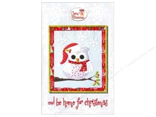 Patterns Christmas: Cherry Blossoms Quilting Owl Be Home For Christmas Pattern