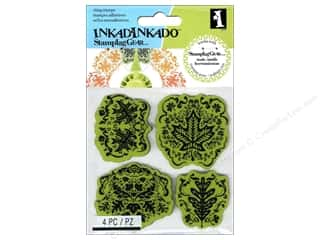 Stamps Stamp Sets: Inkadinkado Cling Stamp Stamping Gear Maple Leaf