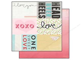 Echo Park 12 x 12 in. Paper Head Over Heels Journal Card (25 piece)