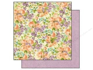 Spring Paper: Graphic 45 12 x 12 in. Paper Sweet Sentiments Perfect Petals (25 sheets)