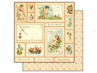 Graphic 45 Paper 12x12 Sweet Sentiments BValentine (25 piece)