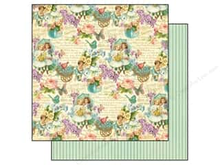 Outdoors Spring: Graphic 45 Paper 12x12 Sweet Sentiments All My Love (25 pieces)