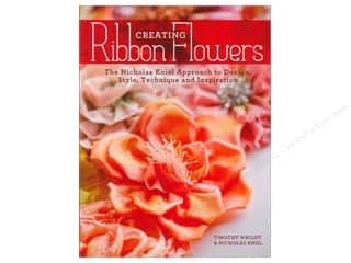 Books Flowers: Krause Publications Creating Ribbon Flowers Book by Nicholas Kniel and Timothy Wright