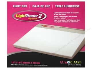 Lights: Artograph Light Tracer II Light Box 12 x 18 in.