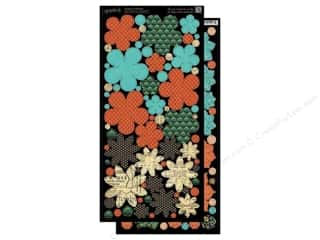 Graphic 45 Clearance Crafts: Graphic 45 Cardstock Shapes Couture Flowers