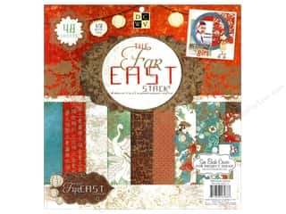 Borders Sale: Die Cuts With A View 12 x 12 in. Cardstock Stack Far East #2