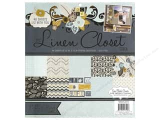 Die Cuts With A View 12 x 12 in. Cardstock Stack Linen Closet #2