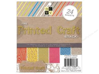 Printed Cardstock: Die Cuts With A View 6 x 6 in. Cardstock Mat Stack Printed Craft