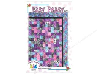 Quilting Patterns: Cool Cat Creations Easy Peasy Quilt Pattern