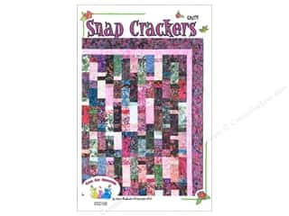 Patterns $10 - $120: Cool Cat Creations Snap Crackers Quilt Pattern
