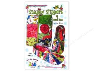 Snappy Slippers & Travel Bag Pattern