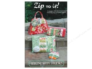 Serendipity Studio Clearance Patterns: Serendipity Studio Zip To It! Pattern