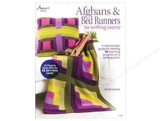 "Lacis 10"": Annie's Afghans & Bed Runners For Knitting Looms Book by Denise Layman"