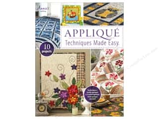 Annies Attic 10 1/2 in: Annie's Applique Techiques Made Easy Book