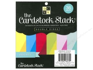 DieCuts Cardstock Stack 6 x 6 in. Brights