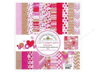Doodlebug Paper 12 x 12 in. Sweetheart Assorted