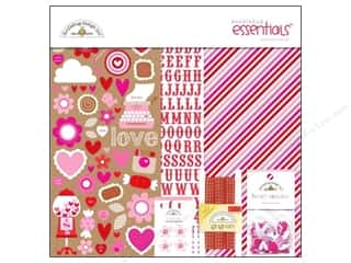 Brads Doodlebug Brads: Doodlebug Kit Essentials Sweetheart