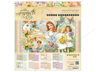 "Graphic 45 Graphic 45 Paper Pad Collections: Graphic 45 Paper Pad Sweet Sentiments 12""x 12"""
