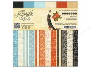 "Graphic 45 Back To School: Graphic 45 Paper Pad Couture 6""x 6"""