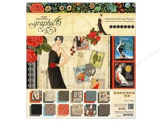 "Glitz Design 8 x 8: Graphic 45 Paper Pad Couture 8""x 8"""