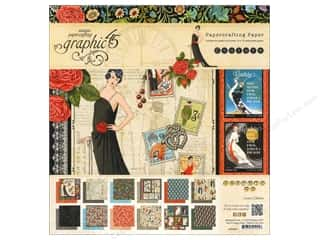 "Scrapbooking & Paper Crafts Weekly Specials: Graphic 45 Paper Pad Couture 12""x 12"""