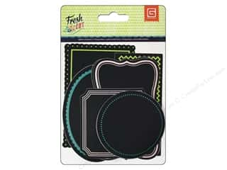Clearance Stickers: BasicGrey Chalkboard Label Stickers Fresh Cut