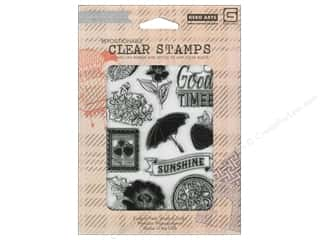 Fruit & Vegetables Back To School: BasicGrey Clear Stamps 11 pc Fresh Cut Sunshine