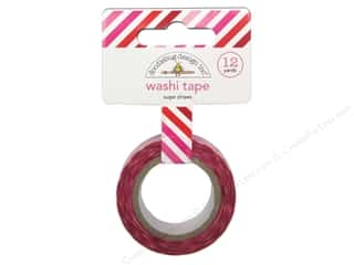 Doodlebug Washi Tape Sweetheart Sugar Stripes 12yd