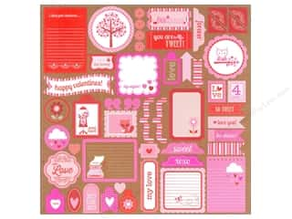 Love & Romance Hot: Doodlebug Stickers Sweetheart This & That